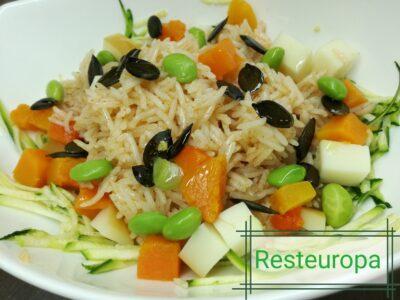 insalata di riso basmati € 4,80